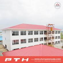 Diseño de construcción industrial prefabricado de 2015 Estructura de acero de bajo costo almacén
