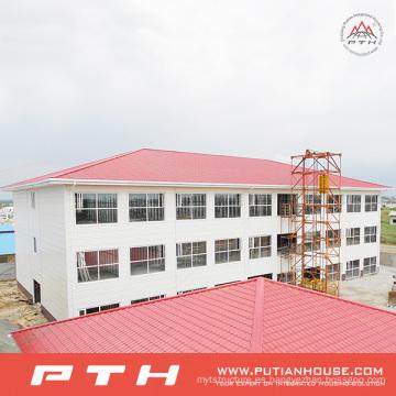 Almacén de estructura de acero prefabricado bajo costo personalizado con fácil instalación