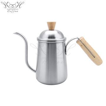 Hand Drip Coffee Chaleira de madeira Handle