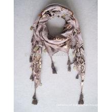 Fashion design 100% viscose pashmina scarf