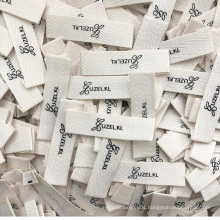 High quality custom natural cotton brand care  label for baby clothing