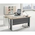 L shape top design office table metal office desk