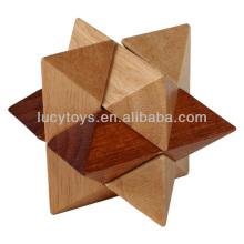 wooden Octagon Magic Sphere 3d puzzle