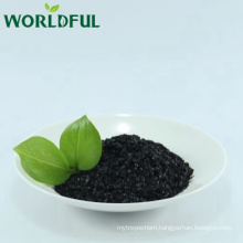 Free Sample Organic Fertilizer Potassium Fulvate Shiny Flake with Rich Fulvic Acid and Humic Acid