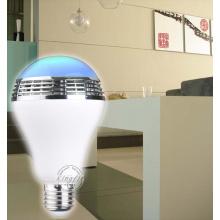 Home Use Smart APP Controle Lâmpada LED Alto-falante Bluetooth