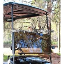 Getönte Acryl Split Golf Car Windschutzscheibe für YAMAHA G22 Golfwagen