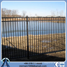 Powder coating garden arch wrought iron fence