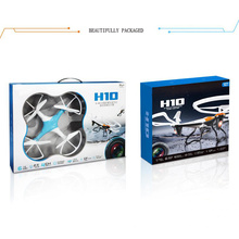 Drone H10 2.4G RC com Câmera HD / 2 Mega Pixel / Hover / Posição Latitude Segura / 1 Tecla Go Home / Modo Headless