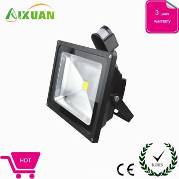 HOT sale high power 30w led flood light & light sensor price with CE,ROHS