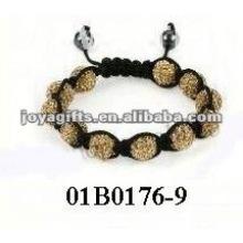 Fashion baby bracelets shamballa bracelet