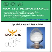 Acetato de Ulipristal de alta qualidade Intermediário com Nº CAS: 54201-84-2