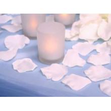 Tela rosa de pétalo de rosa florece la decoración para la boda
