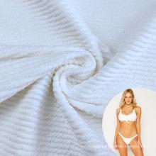 New  arrival spandex nylon lycra  seersucker crinkle swimwear fabric