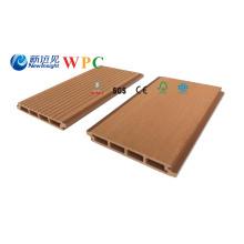 Revestimento composto plástico de madeira da parede exterior de 158 * de 20mm WPC