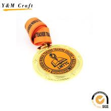 Подгонять металла Промотирования медаль с логотипом (Q09547)