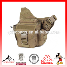 Toile de l'armée de l'armée Voyage militaire Messenger Sling Shoulder randonnée sac petit