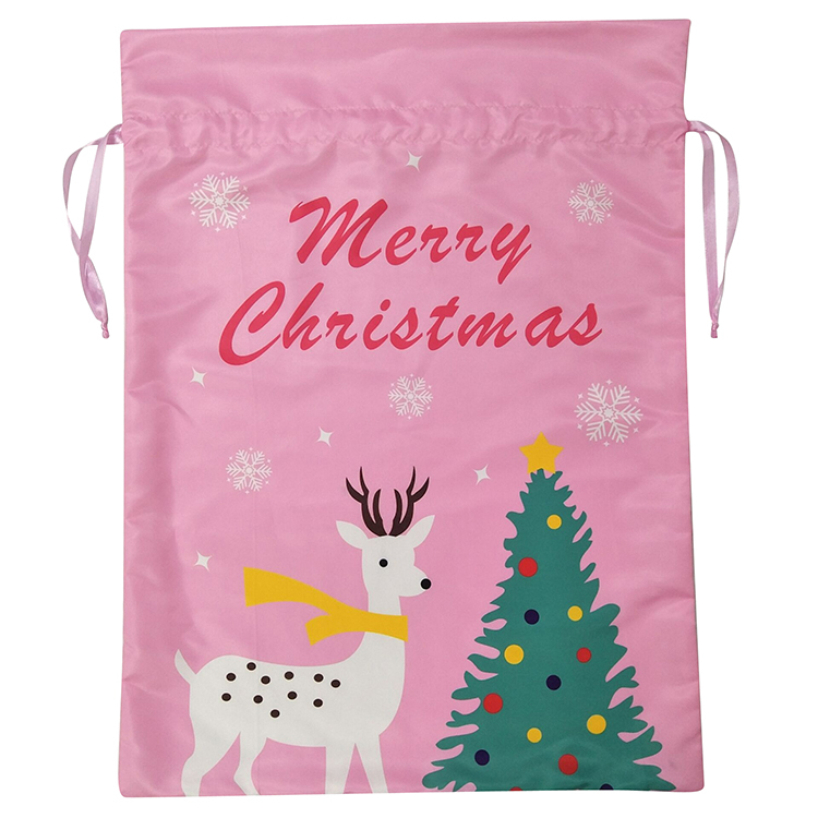 Printed Merry Christmas Christmas Sack
