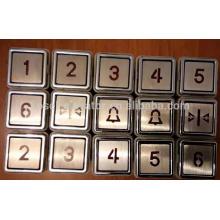 Лифтовые детали типа лифтовые кнопки вызова / кнопки подъема