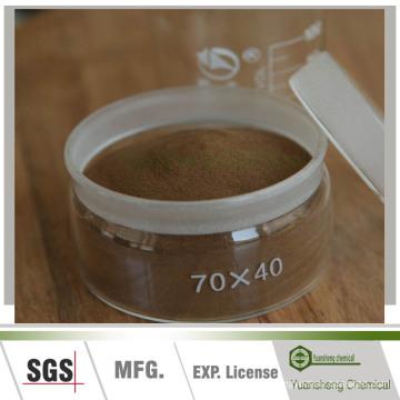 Agente de unión del material refractario de lignosulfonato de calcio