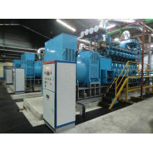 Usina a diesel movida a CRRC