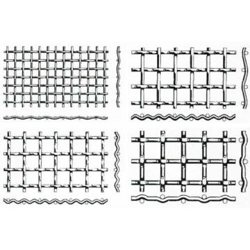 Barbecue crimped wire mesh