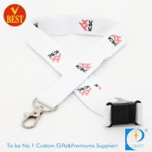 Lanière de polyester imprimée par logo promotionnel de haute qualité pour l'activité en tant que cadeau
