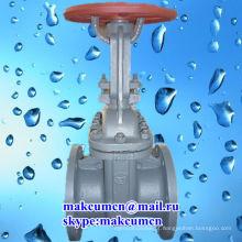 Z41H-16C padrão russo GOST PN50-PN200 aço inoxidável Stell oleoduto válvula de portão