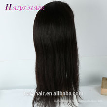 Wholesale Price Raw Virgin Unprocessed Brazilian Straight Wigs Human Hair Full Lace Wig With Clips