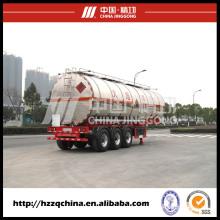Série de semi-reboque tanque, caminhão tanque de produtos químicos líquidos à venda