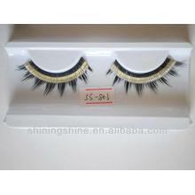 2015 hot design cheap two color false fake fashion eyelashes