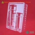 Récipient en plastique cosmétique jetable de PVC