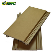 Exterior Wood Composite Wall Cladding Waterproof WPC Wall Panel For Outdoor Use