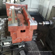 Fabricação de metal pesado, usinagem de aço