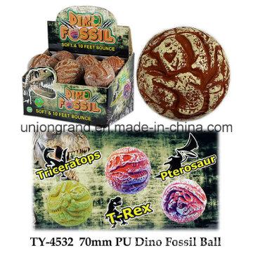 70mm PU Dino Fossil Ball