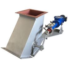 Three-way valve ash discharge valve Gate