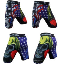OEM MMA Shorts Treino Shorts, Lightweight Boxe Crossfit Shorts, Shorts de alto impacto MMA