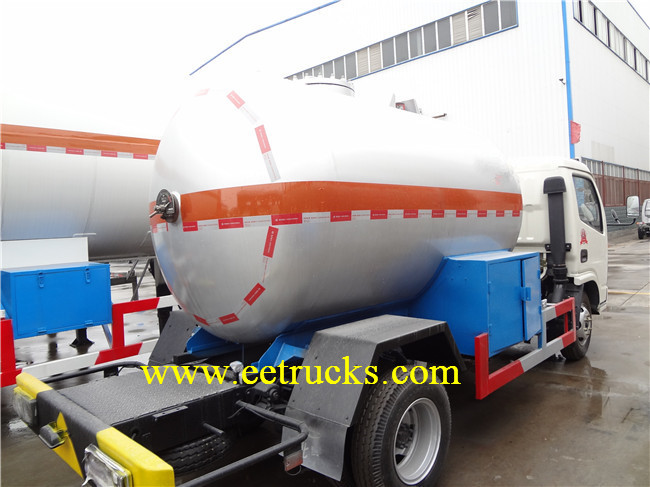 8CBM LPG Delivery Trucks