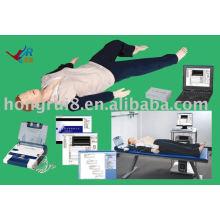 Réanimation cardiopulmonaire avancée contrôlée par ordinateur, défibrillateur externe automatisé aed