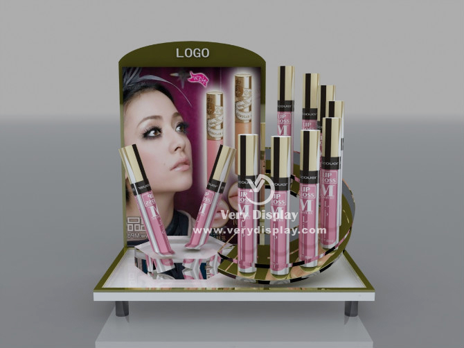 makeup countertop display