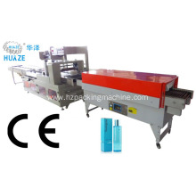 Automatic water/milk/juice/beer PET bottle shrink wrapping machines