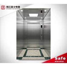ZhuJiangFuJi Indoor 2 4 6 8 Person Home Elevators Hydraulic Elevator Tempered Apartment Electric Elevator Lift