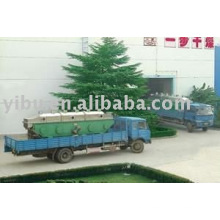 GZQ Rectilinear Vibrating-Fluidized Dryer used in granule state materials
