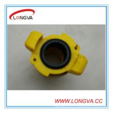 3/4 '' 110mm Желтая купировка с прокладкой из EPDM