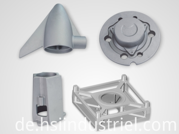 Aluminum Casting Aerospace Part