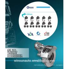 Knorr Adjusting Mechanism Cap Set K000945 - 1439493 81508226021 - 81508226024,brake caliper repair kit