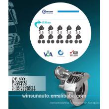 Регулировка механизма кнорр комплект Шапочка K000945 - 1439493 81508226021 - 81508226024,тормозной суппорт ремкомплект