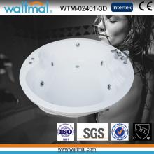Round Whirlpool Massage Drop in Bathtub (WTM-02401-3D)