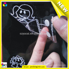 superior service fashionable transparent adhesive sticker
