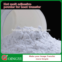 White PU adhesive powder for hot melt glue with thickness increase&water absorption