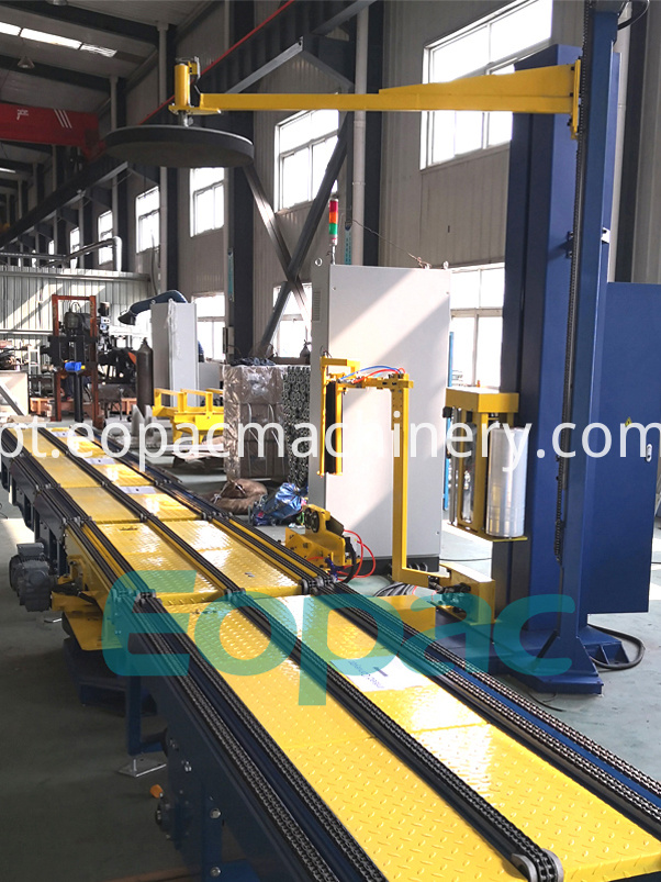 Online Pallet Stretch Wrapper machine